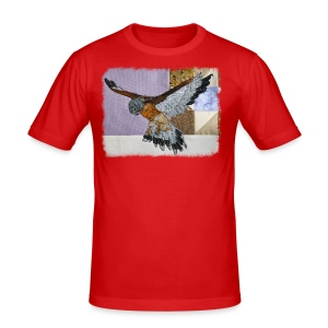 Lilac kestrel - Men's Slim Fit T-Shirt