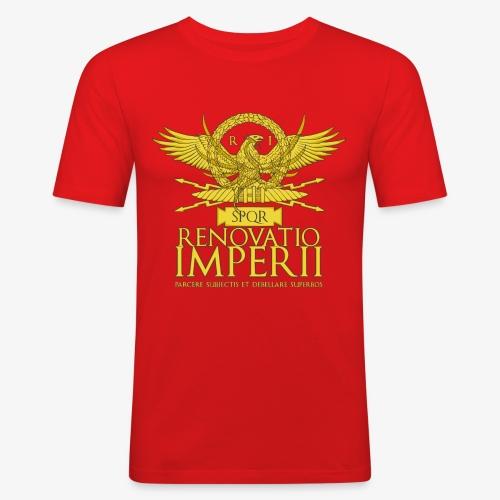 Emblema Renovatio Imperii - Maglietta aderente da uomo