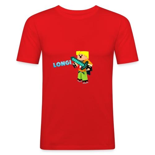 Kämpfender Longi Shirts - Männer Slim Fit T-Shirt