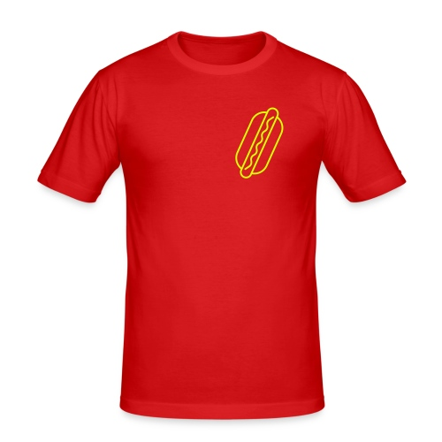 HOTDOG MINIMAL - Men's Slim Fit T-Shirt