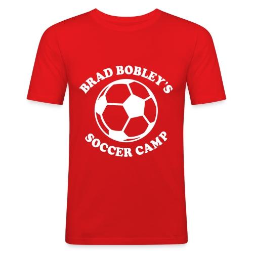 Soccer Camp Logo No Initial - Men's Slim Fit T-Shirt