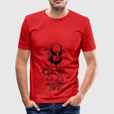 pissed JONES - Men's Slim Fit T-Shirt