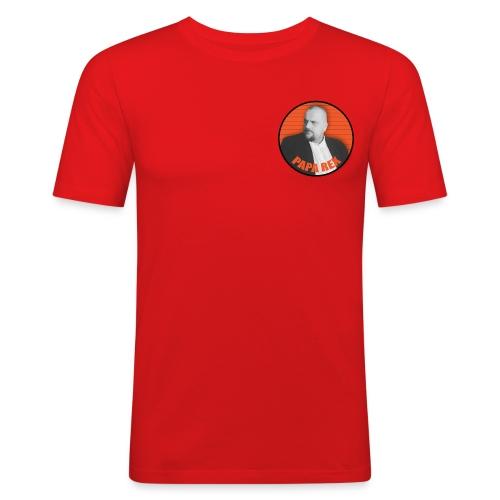 ORANGE paparexlogo - Miesten tyköistuva t-paita