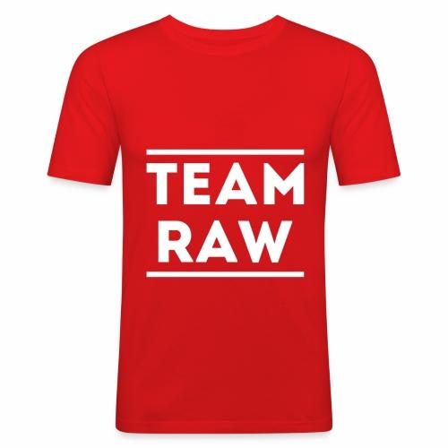 Team Raw - T-shirt près du corps Homme