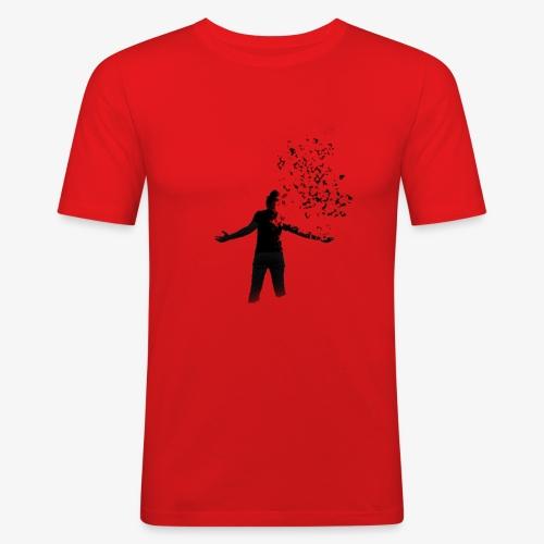 Coming apart. - Men's Slim Fit T-Shirt