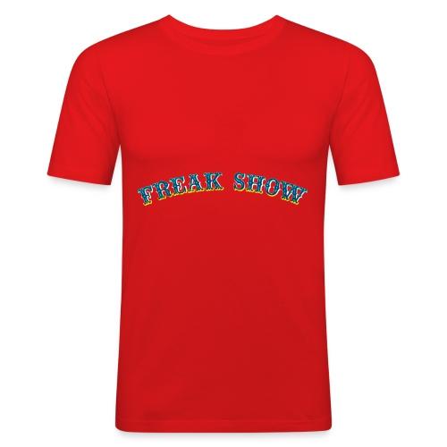 Freak Show larp - Miesten tyköistuva t-paita