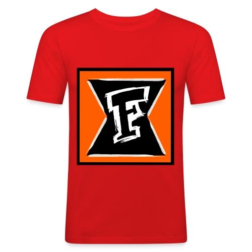 Logo Farbe - Männer Slim Fit T-Shirt