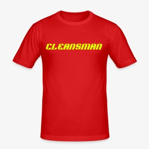 Cleansman - Männer Slim Fit T-Shirt