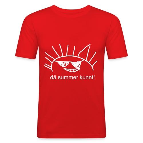 Summer - Männer Slim Fit T-Shirt