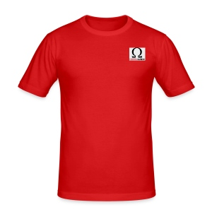 OMEGAGAMING Logo - Men's Slim Fit T-Shirt