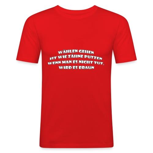 wählen - Männer Slim Fit T-Shirt