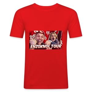 EnzoKnol Tour - slim fit T-shirt
