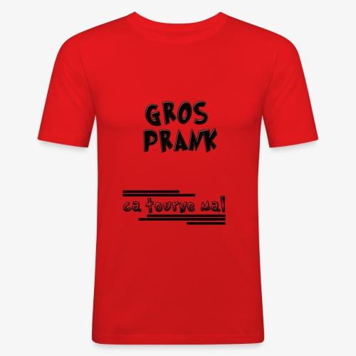 youtube prank - T-shirt près du corps Homme