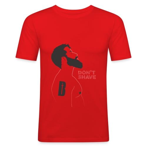 Don't shave - Camiseta ajustada hombre
