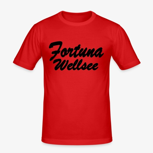 Fortuna Wellsee - Männer Slim Fit T-Shirt