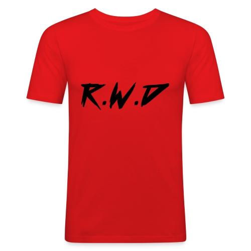 R.W.D Black Label - Men's Slim Fit T-Shirt