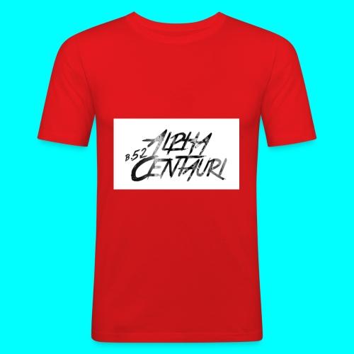 Alpha Centauri - Männer Slim Fit T-Shirt