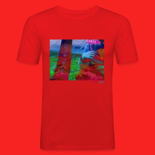 SURES x HU - Men's Slim Fit T-Shirt