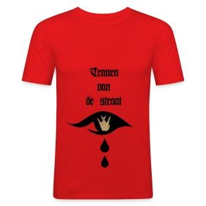 Tranen van de straat - slim fit T-shirt