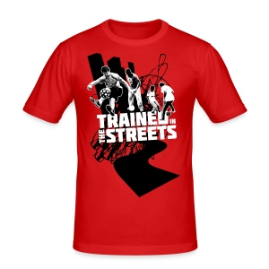 Trained in the Streets - Men's Slim Fit T-Shirt