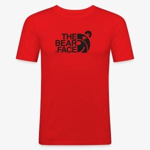 The Bear Face T-shirt (Black) - Camiseta ajustada hombre