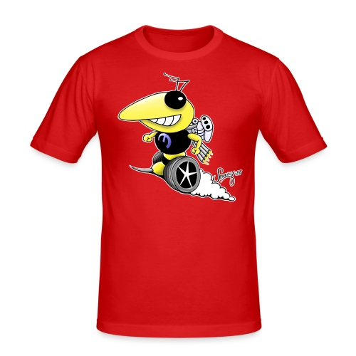 Blower Bee - Slim Fit T-shirt herr