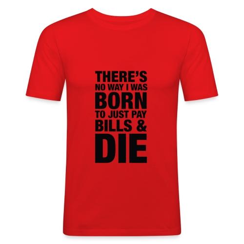 tee 001 - Men's Slim Fit T-Shirt