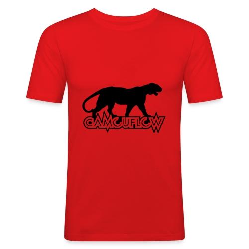 Camouflow Panther - Männer Slim Fit T-Shirt