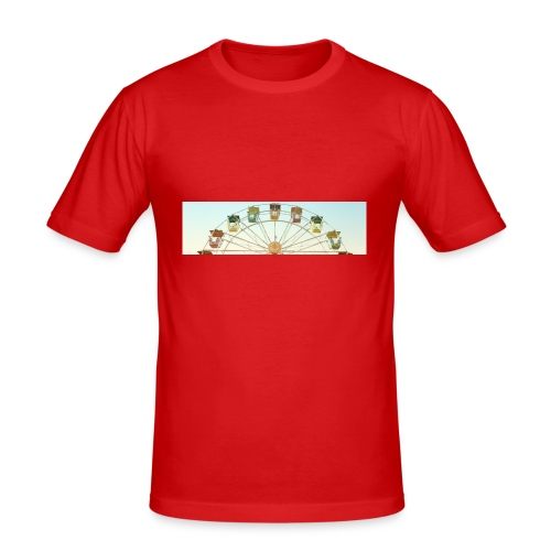 header_image_cream - Men's Slim Fit T-Shirt