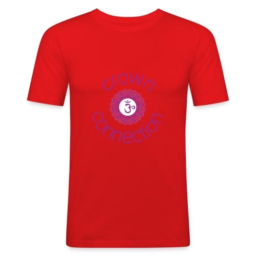 Crown Connection Logo - Men's Slim Fit T-Shirt