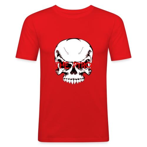 THE PYRO EDITION - Männer Slim Fit T-Shirt
