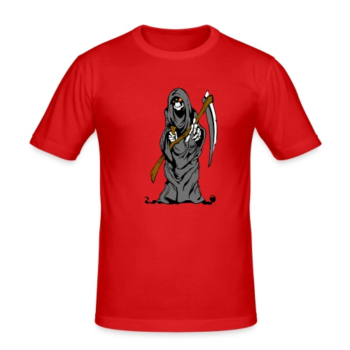 Reaper - Sensenmann - Männer Slim Fit T-Shirt