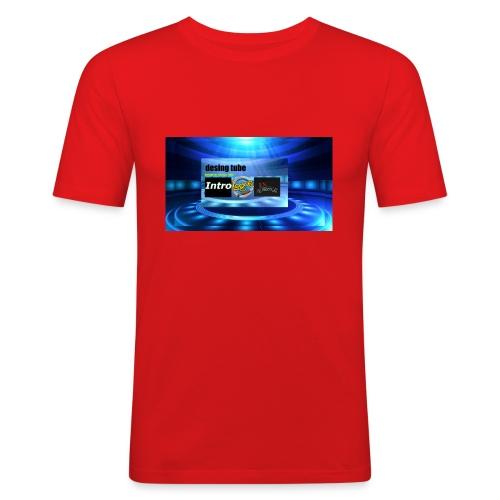 full banner t-shirt - slim fit T-shirt