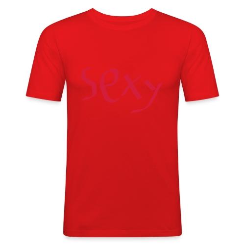 sexy tøj - Herre Slim Fit T-Shirt