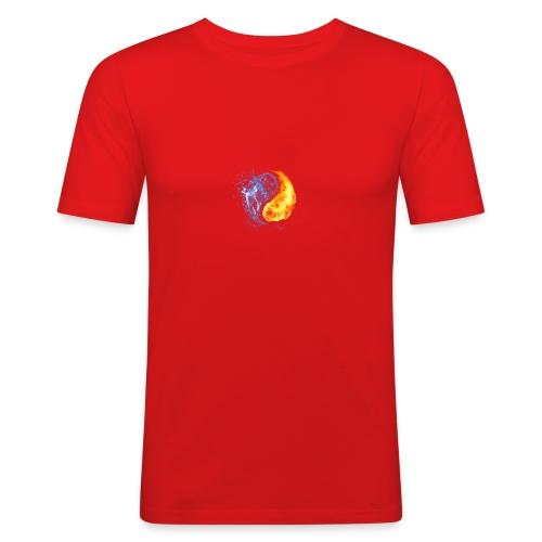 Abstract - Männer Slim Fit T-Shirt