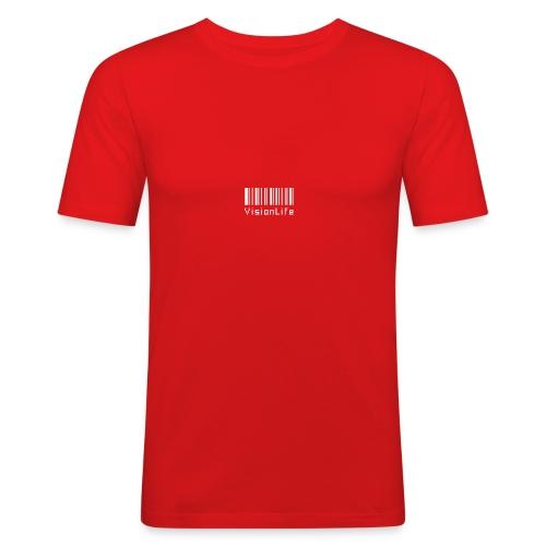 VisionLife - Männer Slim Fit T-Shirt