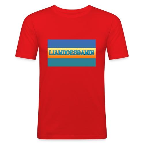 LiamDoesGamin - Men's Slim Fit T-Shirt