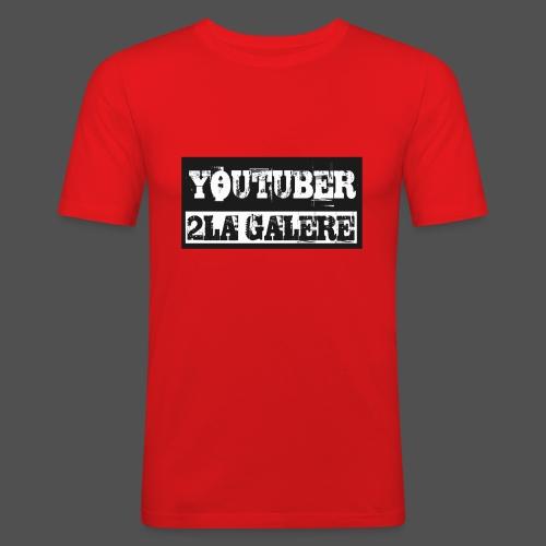 youtuber2lagalère - T-shirt près du corps Homme