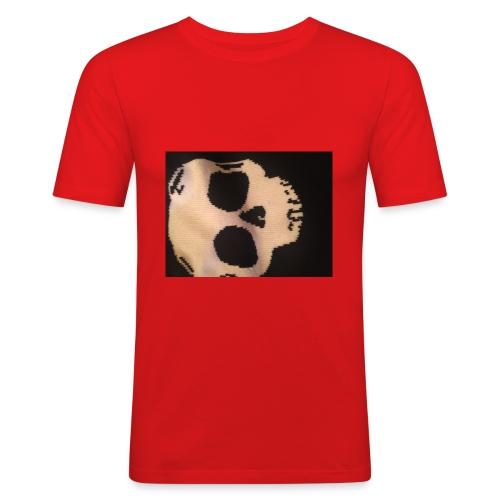 Skilette Marke - Männer Slim Fit T-Shirt