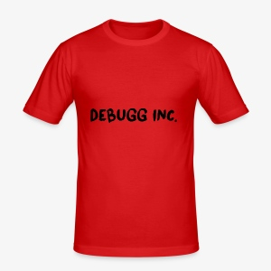Debugg INC. Brush Edition - Men's Slim Fit T-Shirt
