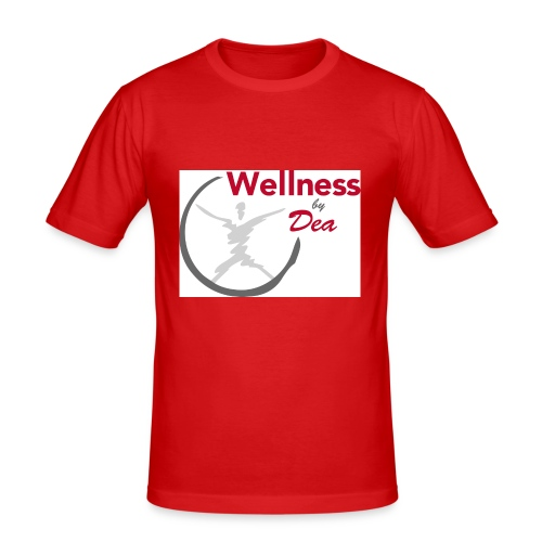 Wellness By Dea Vattenflaska - Slim Fit T-shirt herr