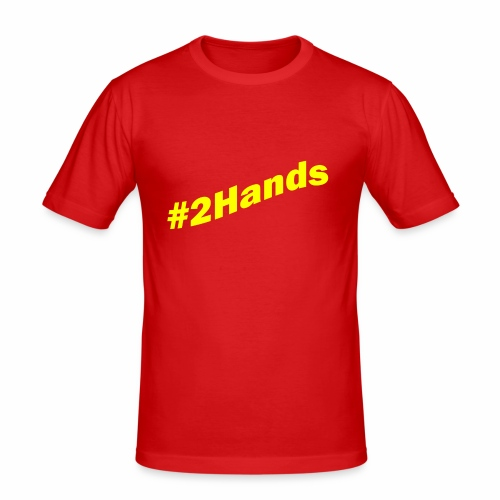 2Hands - Men's Slim Fit T-Shirt