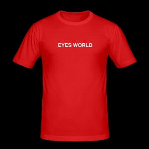Eyes world original - Tee shirt près du corps Homme