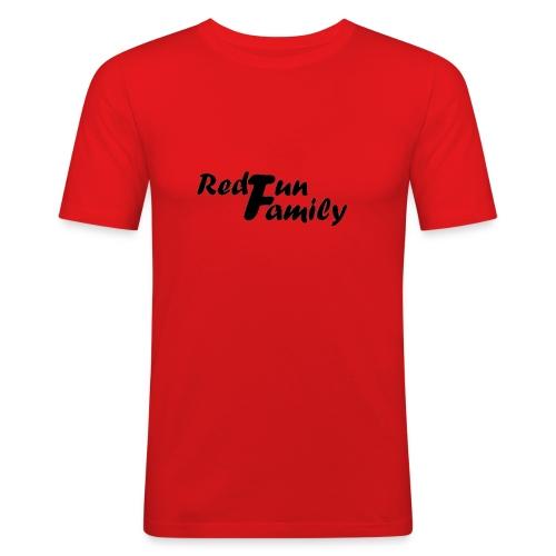 RedfunFamily - T-shirt près du corps Homme