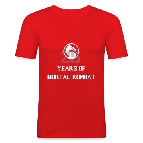 25 Years of Mortal Kombat: Mortal Kombat X ver. 01 - Men's Slim Fit T-Shirt