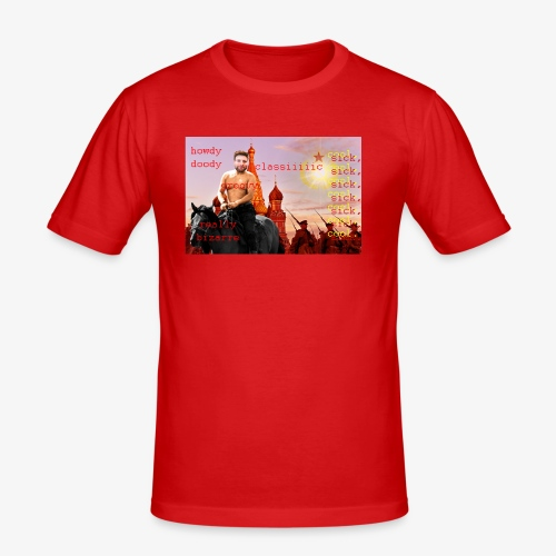 putin howdy - Men's Slim Fit T-Shirt