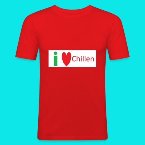 Ich Liebe Chillen - Männer Slim Fit T-Shirt