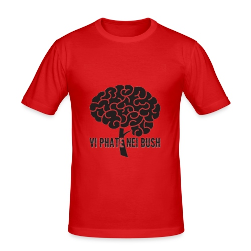 vi phate nei bush - logo - Maglietta aderente da uomo