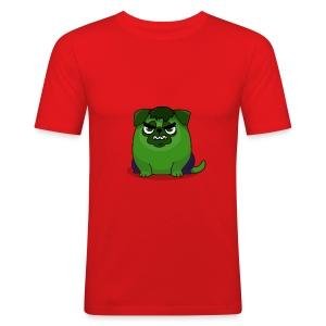 Green Fury - Men's Slim Fit T-Shirt