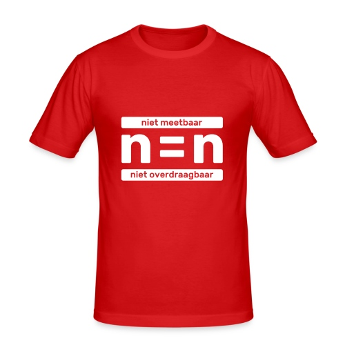 T-shirt n=n campagne - slim fit T-shirt